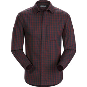 Arc'teryx Bernal LS Shirt Herre Black Baccara